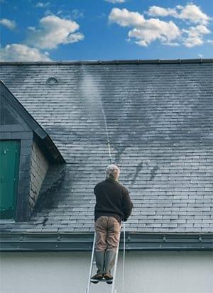 Anti mousse pulverisateur - Isolation sous toiture garage